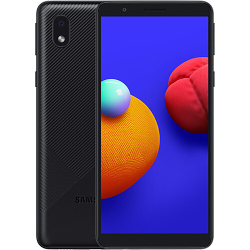 Смартфон Samsung Galaxy A01 Core RUS (черный)