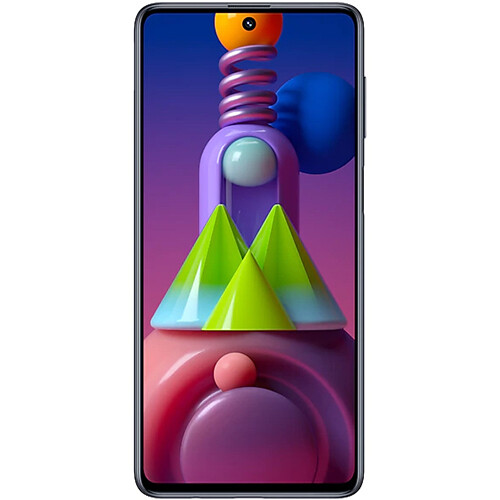 Смартфон Samsung Galaxy M51 RUS (черный)