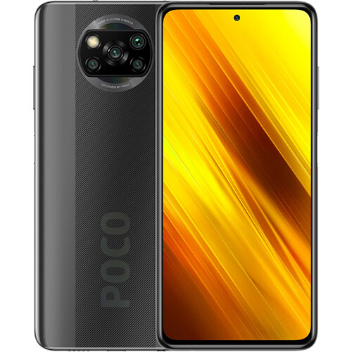 Смартфон Xiaomi Poco X3 NFC 6/64GB EU Global Version (серый)