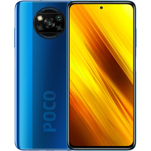 Смартфон Xiaomi Poco X3 NFC 6/128GB EU Global Version (синий)