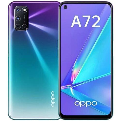 Смартфон OPPO A72 4/128GB RUS (аврора фиолетовый)