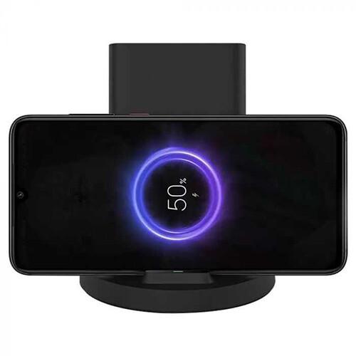 Беспроводное зарядное устройство Xiaomi Mi 20W Wireless Charging Stand, USB type-C, 2A (black)