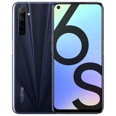 Смартфон realme 6s 6/128Gb RUS (eclipse black)
