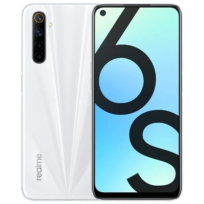 Смартфон realme 6s 6/128GB RUS (lunar white)