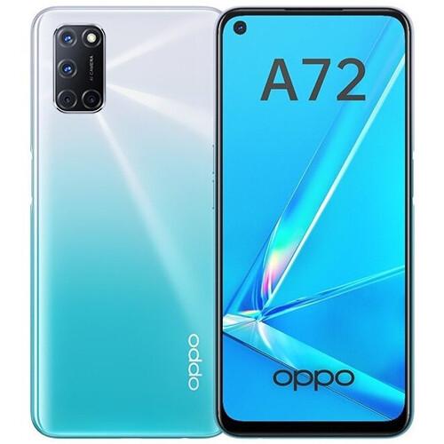 Смартфон OPPO A72 4/128GB RUS (сияющий белый)