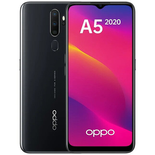 Смартфон OPPO A5 (2020) 3/64GB RUS (черный)