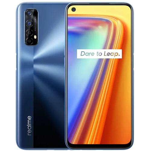 Смартфон realme 7 8/128GB RUS (зеркальный синий)