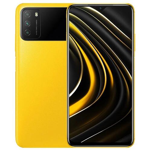 Смартфон Xiaomi Poco M3 4/128GB RUS (желтый)