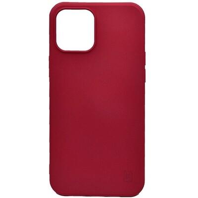 Чехол-накладка для iPhone YOLKKI Rivoli (темно-розовый)
