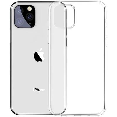 Чехол-накладка для iPhone силиконовый (прозрачный)