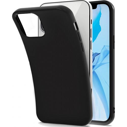 Чехол-накладка для iPhone силиконовый (черный)