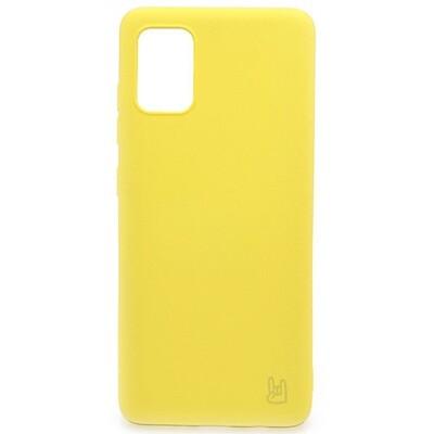 Чехол-накладка для Samsung Galaxy YOLKKI (желтый)
