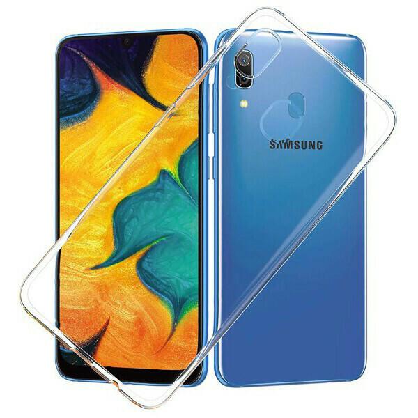 Чехол-накладка для Samsung Galaxy силиконовый (прозрачный)