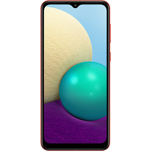 Смартфон Samsung Galaxy A02 2/32GB RUS (красный)