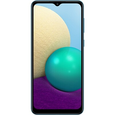 Смартфон Samsung Galaxy A02 2/32GB RUS (синий)