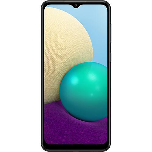 Смартфон Samsung Galaxy A02 2/32GB RUS (черный)