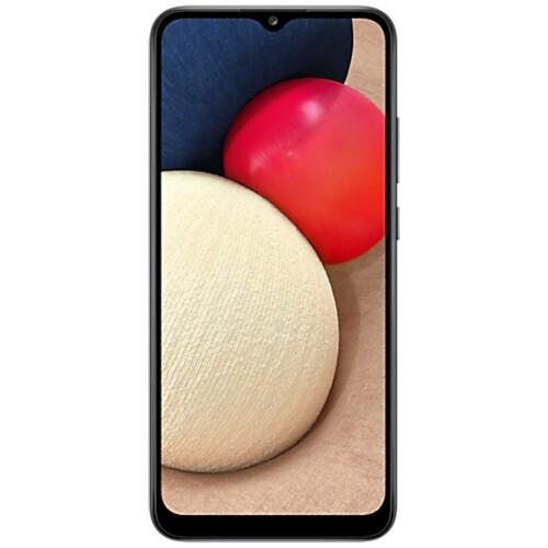 Смартфон Samsung Galaxy A02s RUS (черный)