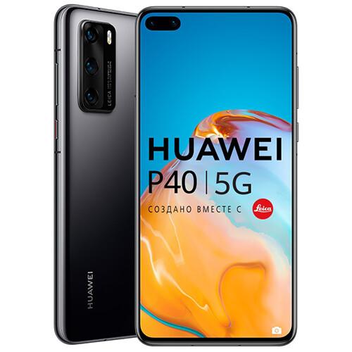 Смартфон Huawei P40 RUS (черный)