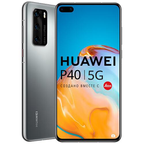 Смартфон Huawei P40 RUS (серебристый)
