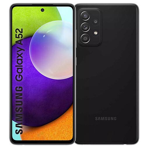 Смартфон Samsung Galaxy A52 8/256GB RUS (черный)
