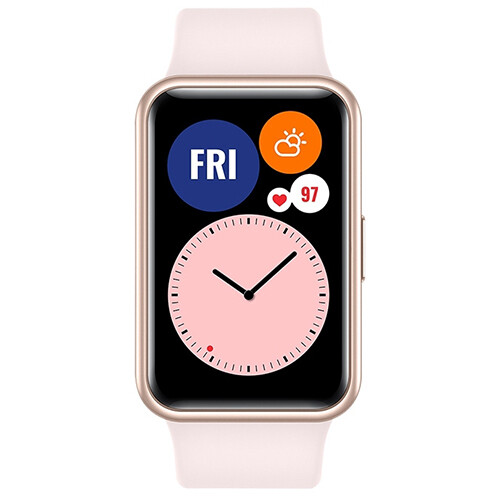 Умные часы Huawei Watch Fit (розовая сакура) RUS