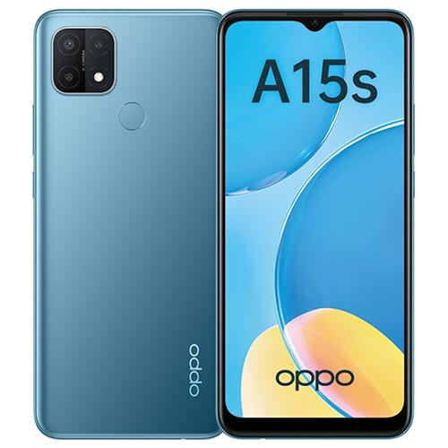 Смартфон OPPO A15s RUS (голубой)