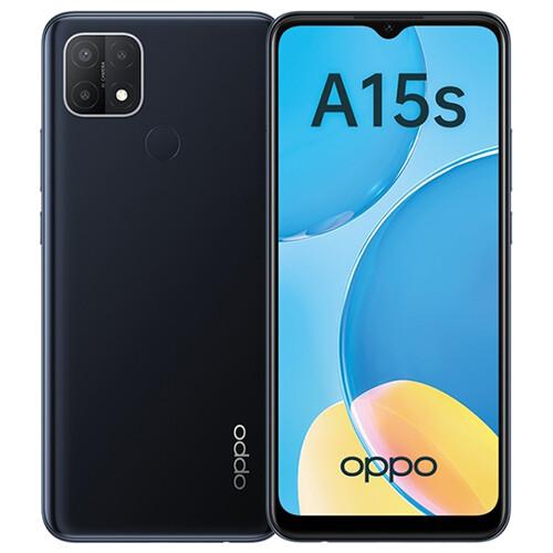 Смартфон OPPO A15s RUS (черный)