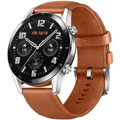 Умные часы Huawei Watch GT 2 Classic 46 мм, коричневая галька RUS