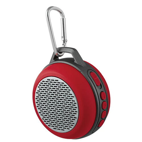 Bluetooth-колонка Perfeo «SOLO» FM, MP3 microSD, AUX, мощность 5Вт, 600mAh, красная