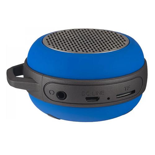Bluetooth-колонка Perfeo «SOLO» FM, MP3 microSD, AUX, мощность 5Вт, 600mAh, синия