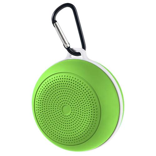 Bluetooth-колонка Perfeo «SPOT» FM, MP3 microSD, AUX, мощность 3Вт, 500mAh (зеленый)