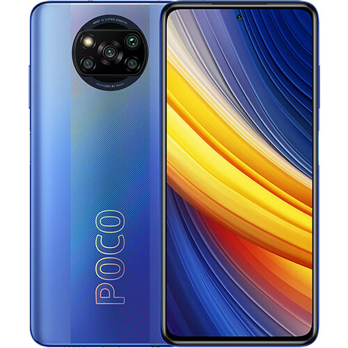 Смартфон Xiaomi Poco X3 Pro 6/128GB EU Global Version (синий)