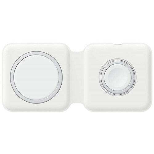 Беспроводная зарядная станция Apple MagSafe MHXF3ZE/A (белый)