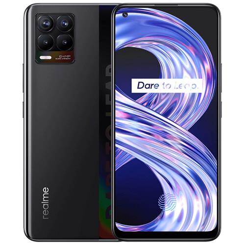 Смартфон realme 8 6/128GB RUS (черный)