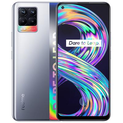 Смартфон realme 8 6/128GB RUS (серебристый)