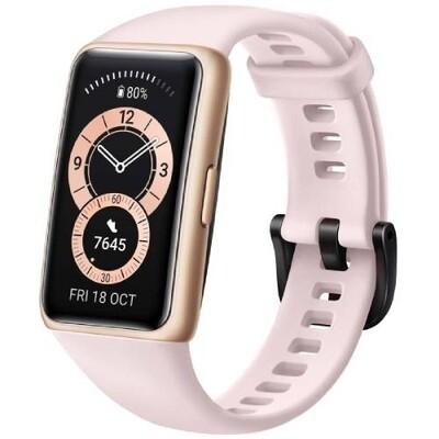 Умный браслет Huawei Band 6 (розовая сакура) RUS