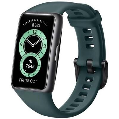 Умный браслет Huawei Band 6 (темно-зеленый) RUS