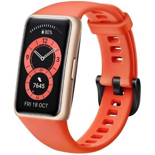 Умный браслет Huawei Band 6 (оранжевый) RUS