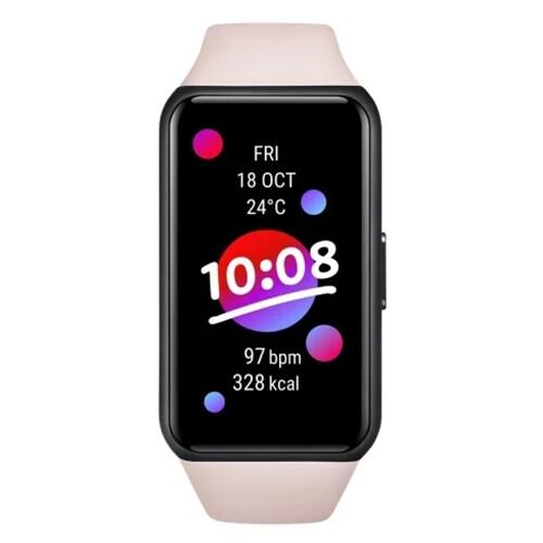 Умные часы Honor Band 6 RUS (розовый)