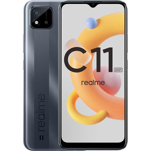 Смартфон realme C11 2021 2/32GB RUS (серая сталь)
