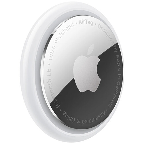 Трекер Apple AirTag RUS (белый/серебристый) 1 шт.