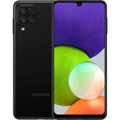 Смартфон Samsung Galaxy A22 4/64GB RUS (черный)