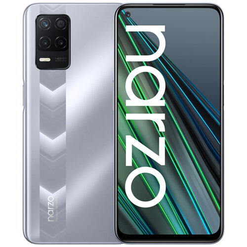 Смартфон realme NARZO 30 5G 4/128GB RUS (серебристый)