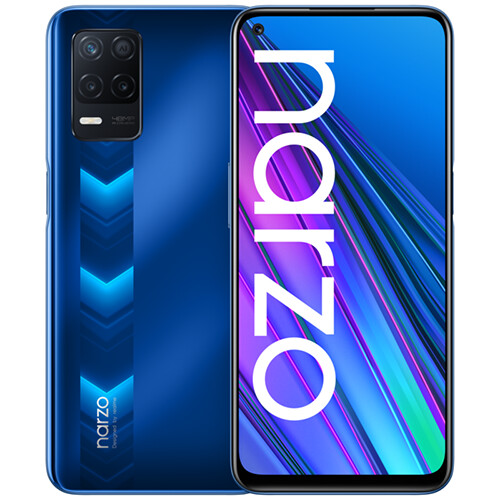 Смартфон realme NARZO 30 5G 4/128GB RUS (синий)