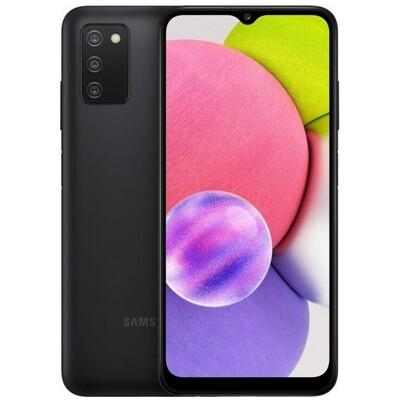 Смартфон Samsung Galaxy A03s 32GB RUS (черный)