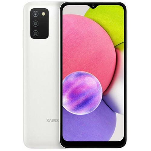 Смартфон Samsung Galaxy A03s 32GB RUS (белый)