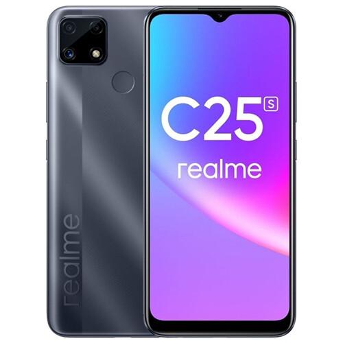 Смартфон realme C25S 4/128GB RUS (серый)