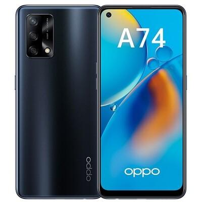 Смартфон OPPO A74 4/128GB RUS (черный)