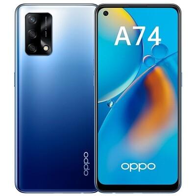 Смартфон OPPO A74 4/128GB RUS (синий)