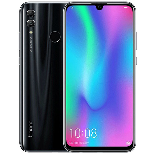 Смартфон Honor 10 Lite 3/64GB RUS (черный)